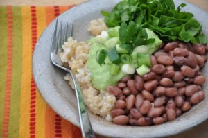 Photo Credit: http://www.nourishingmeals.com/2009/03/bean-and-rice-breakfast-bowls.html